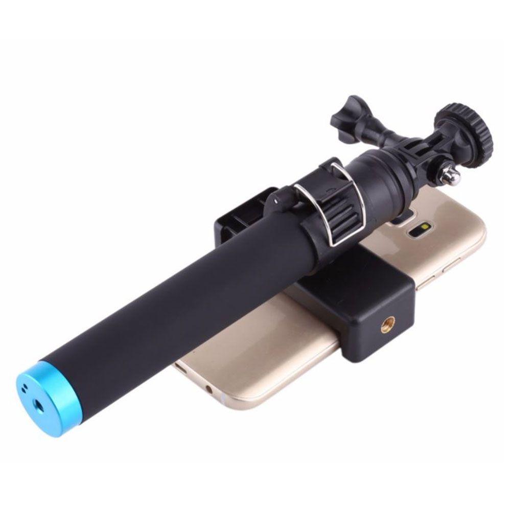 Bastao Selfie Telesin Monopod em Aluminio para GoPro, Sjcam e celular
