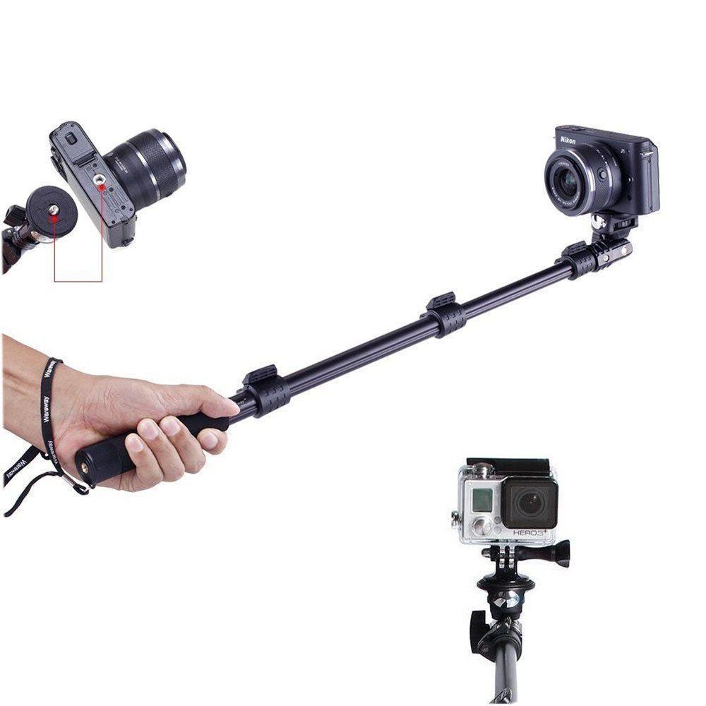 Bastão Yunteng Prova D'água Bluetooth Controle Remoto  42cm-1,25m GoPro