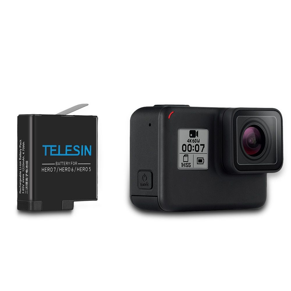 Bateria Substituição GoPro Hero 5678 Black 3.85 V 1220 mAh