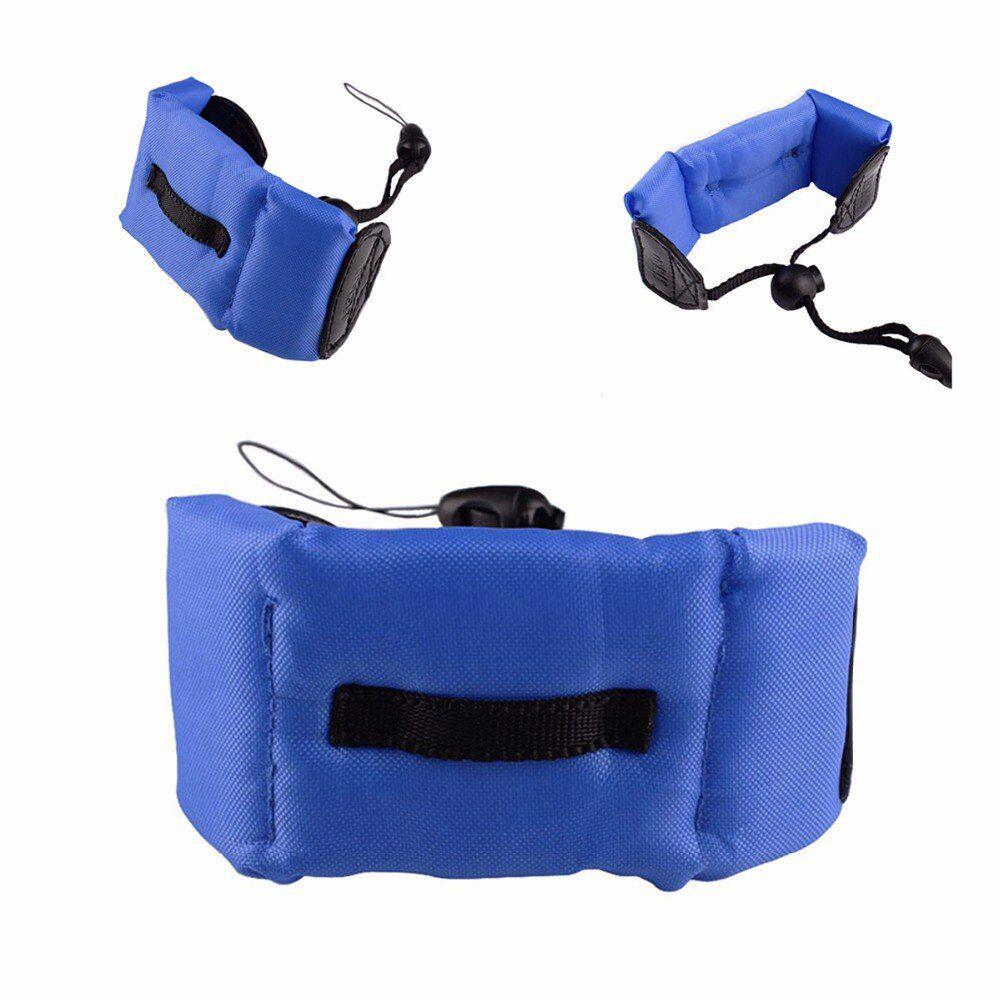 Bóia de Flutuação Braço Punho para GoPro SJCam - Azul