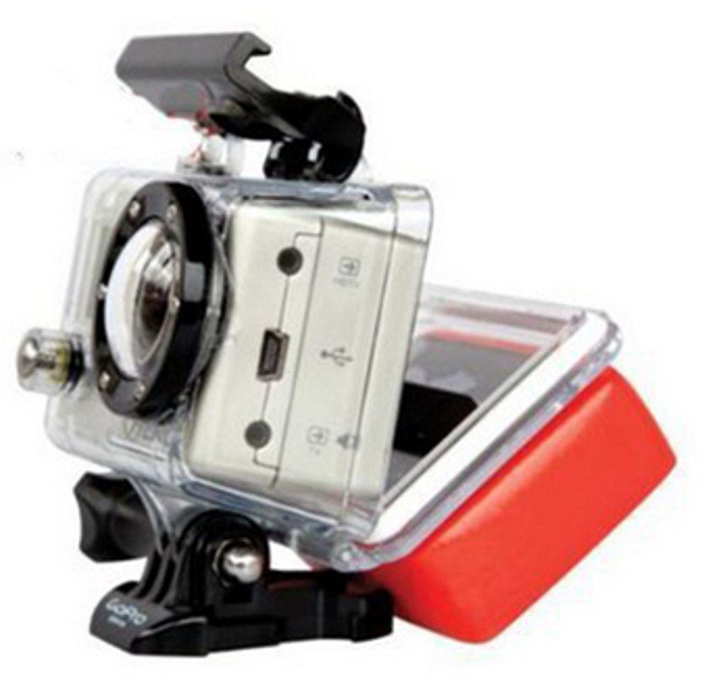 Bóia de Flutuação Floaty Box + Adesivo 3M para GoPro Hero 2-4
