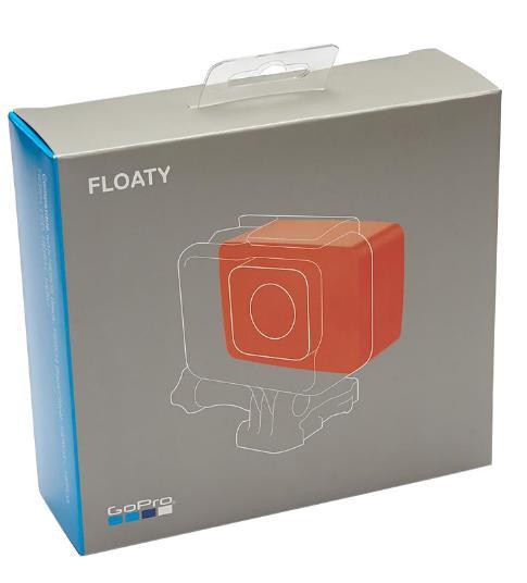 Boia Flutuante + Tampa Traseira Original Floaty AFLTY-004 Backdoor para Câmeras GoPro 2-6