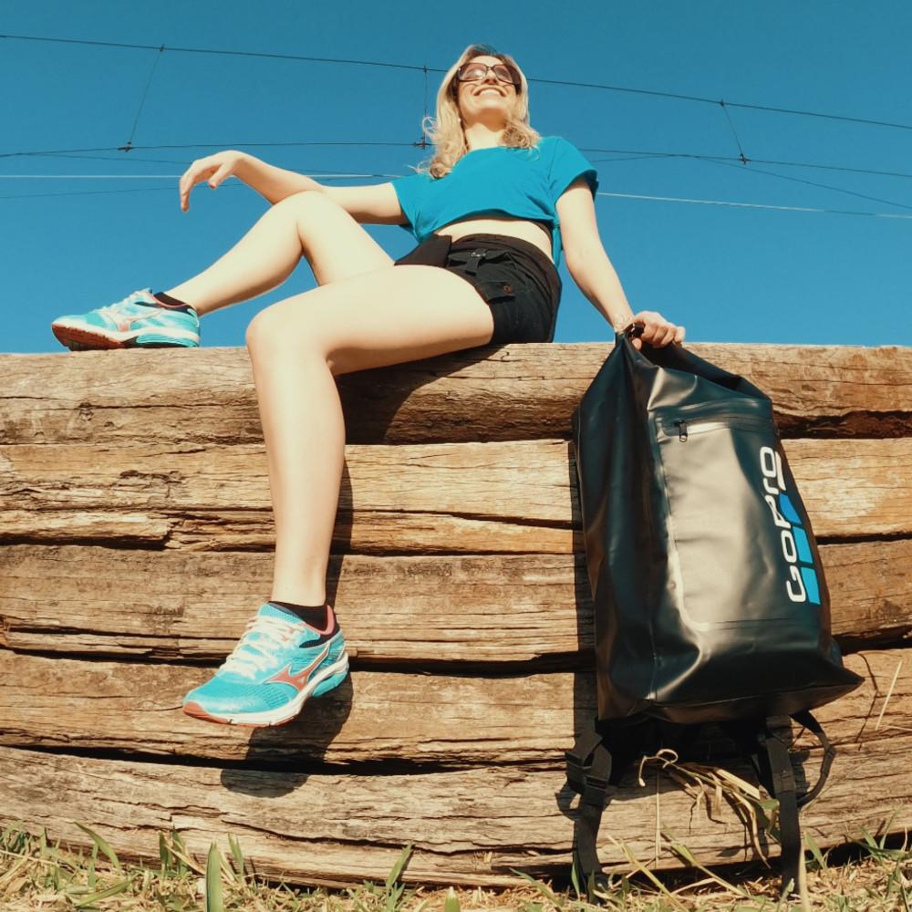 Bolsa Dry Bag Impermeavel 30L Personalizada GoPro