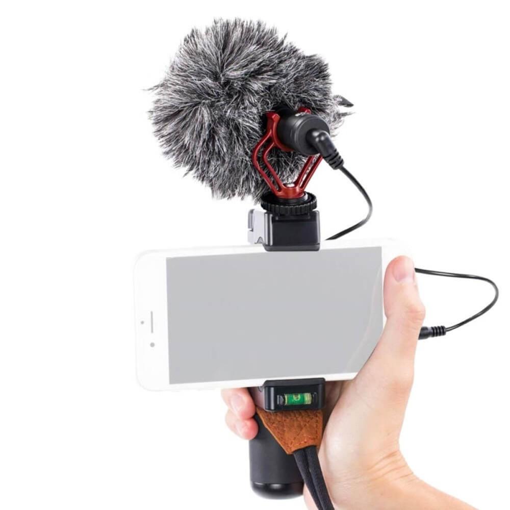 BOYA - Microfone Externo para Câmeras DSLR /  GoPro / Celular - BOYA BY-MM1