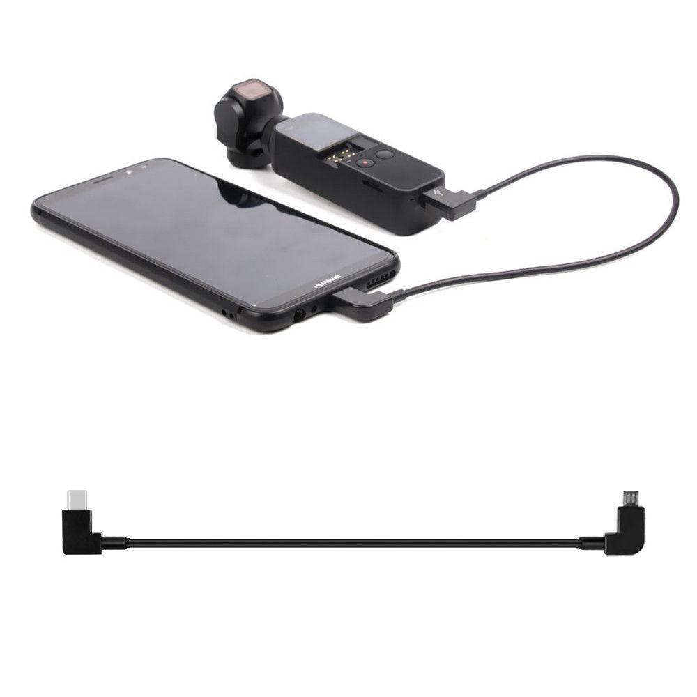 Cabo de Transferencia da Dados conexão USB-C Android para DJI Osmo Pocket