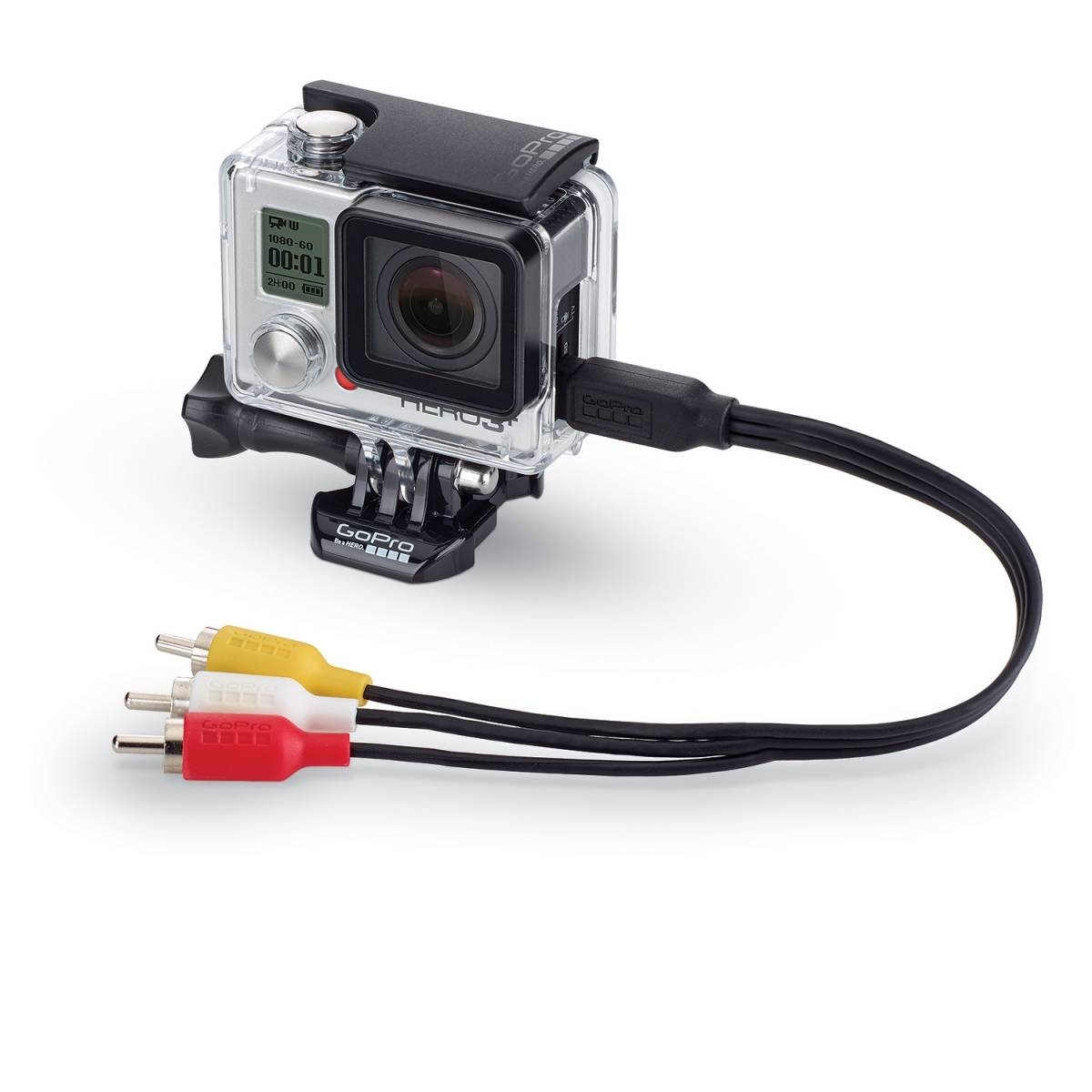 Cabo Original GoPro Video Componente Hero 3/3+/4 -Acmps-301