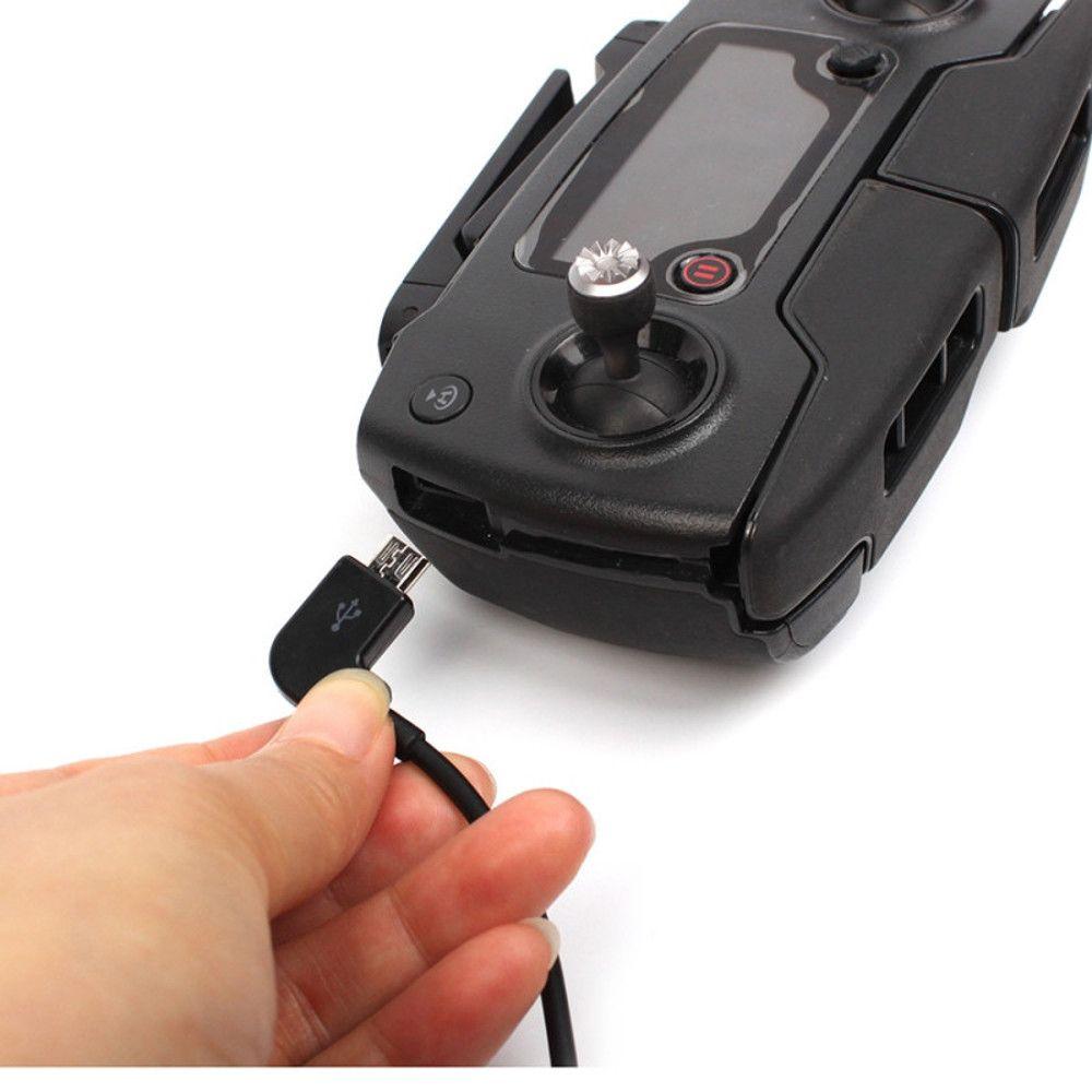 Cabo Otg Lightning Iphone Ipads para Controle Drone Dji Mavic Pro Mavic Air e Spark