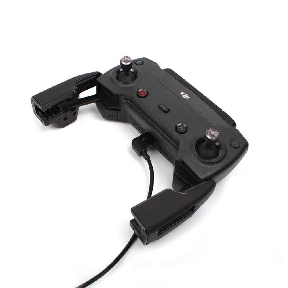Cabo Otg Micro Usb para Controle Drone Dji Mavic Pro Mavic Air e Spark