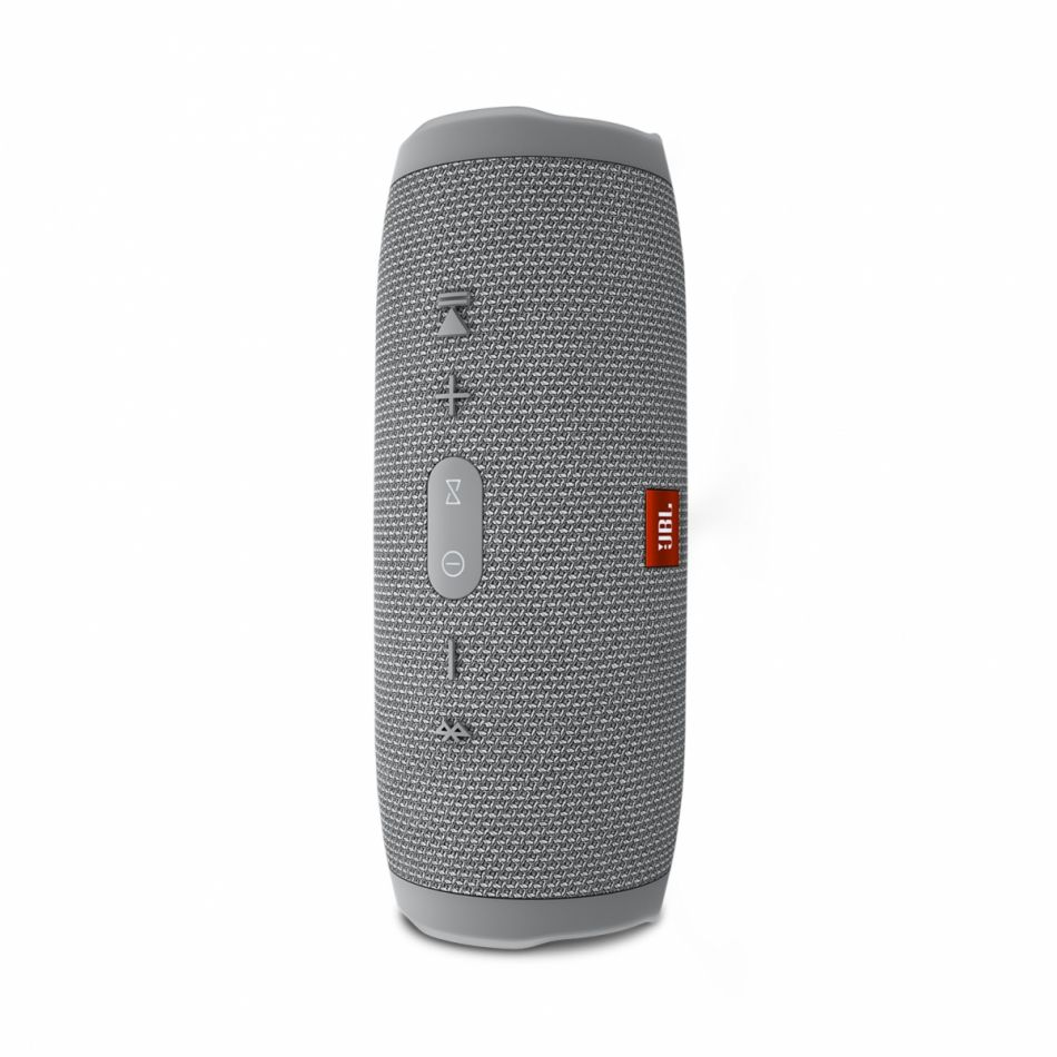 Caixa de Som JBL Charge3 Bluetooth Speaker - Cinza