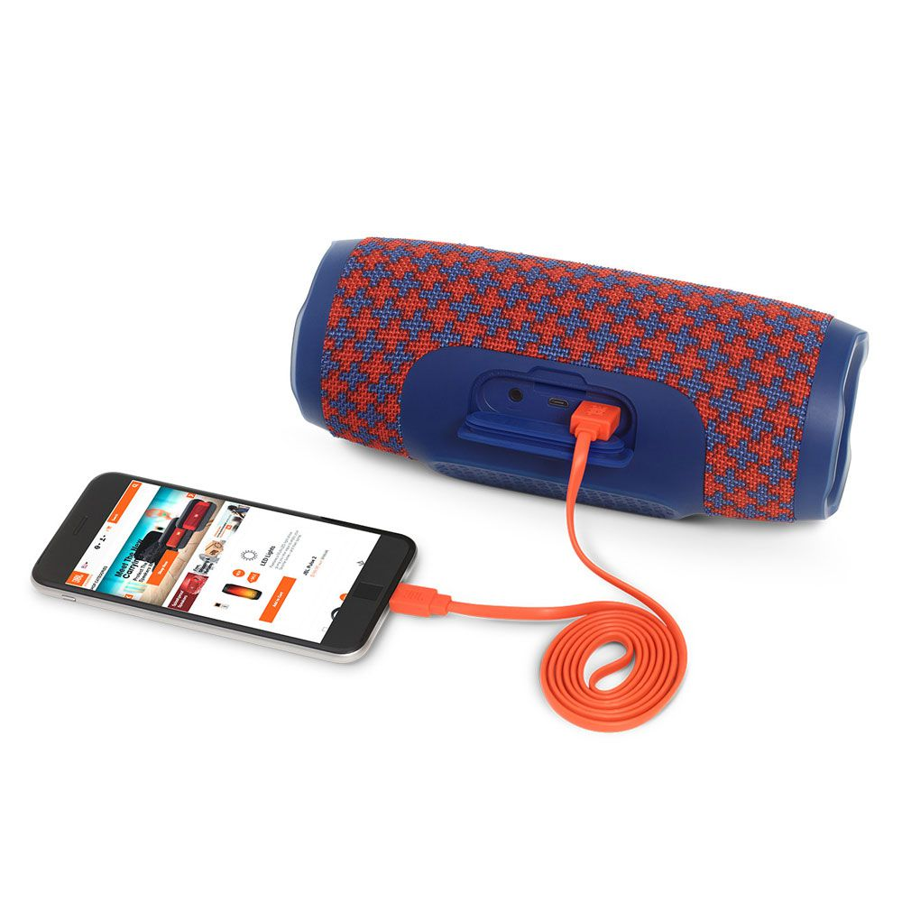 Caixa de Som JBL Charge3 Bluetooth Speaker - Malta