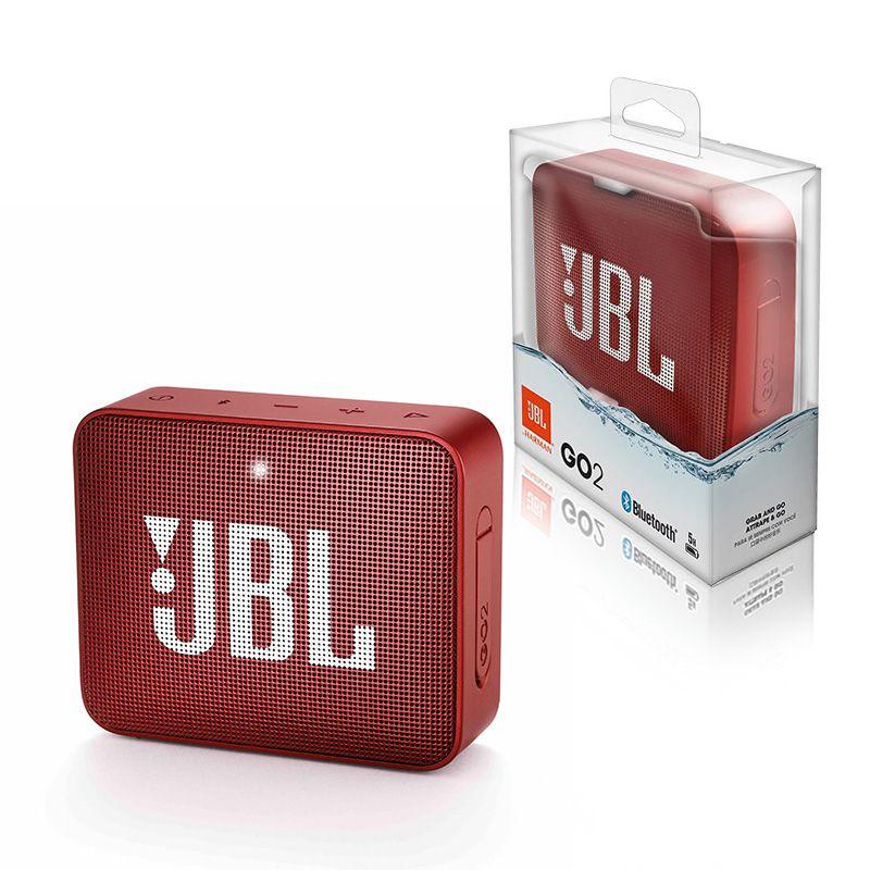 Caixa de Som JBL GO 2 Bluetooth Vermelha