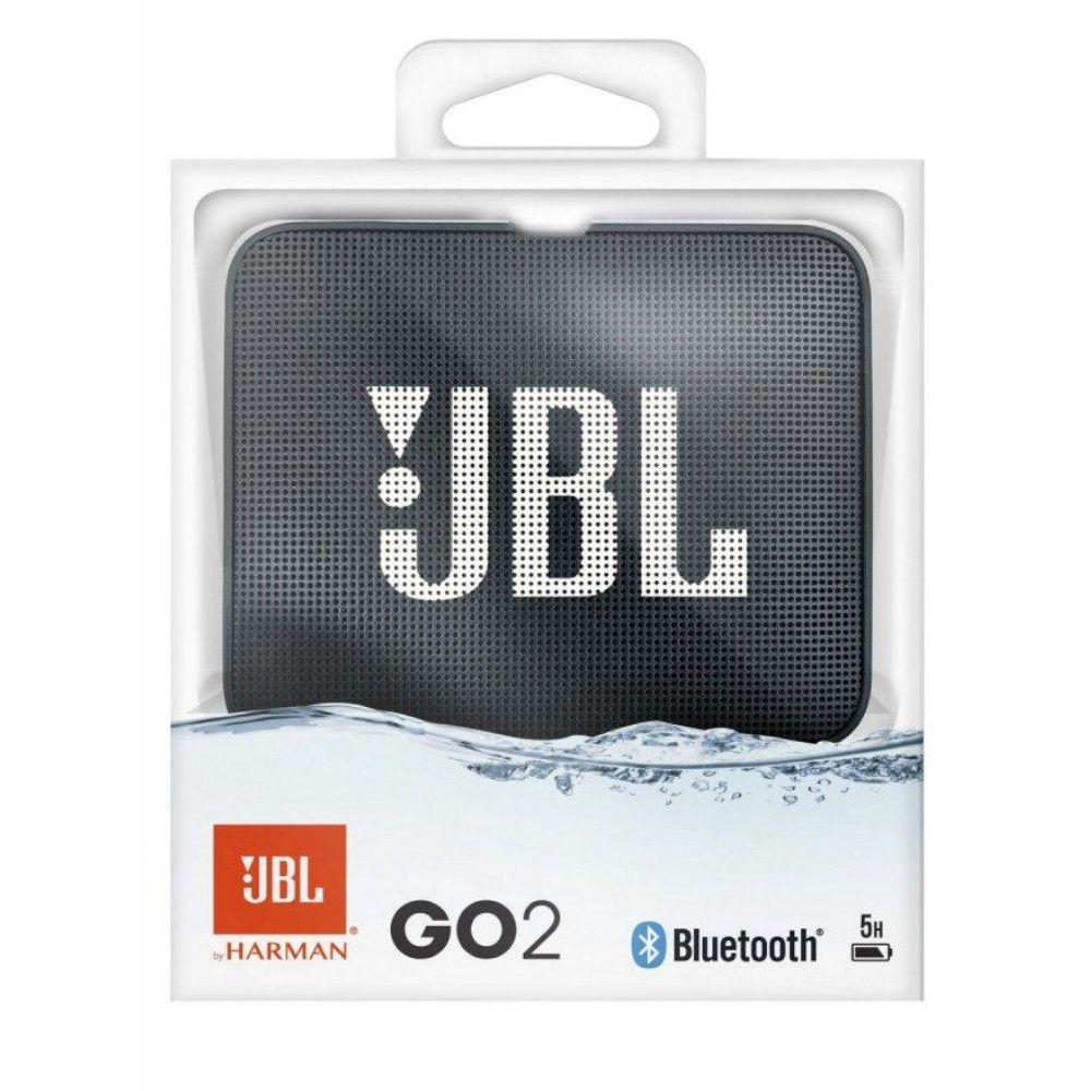 Caixa de Som JBL GO 2 Bluetooth Preto