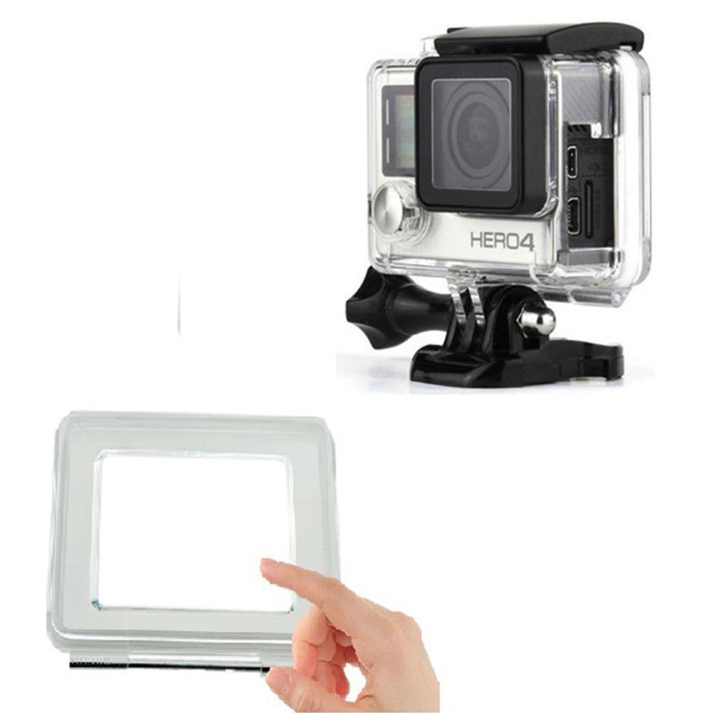 Caixa Estanque Aberta GoPro Hero 3+/4 Com Tampa Touch Skeleton