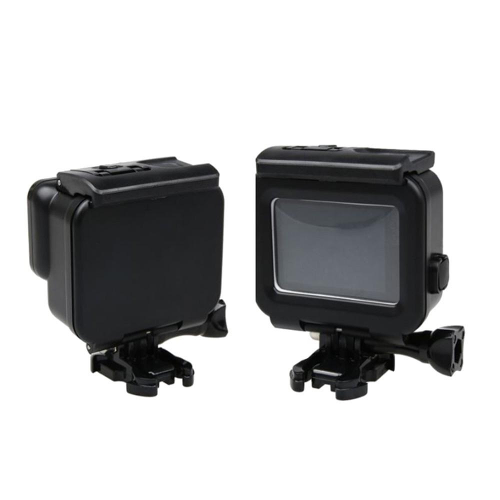 Caixa Estanque Blackout tampa fechada e touch para GoPro 5/6/7 Black