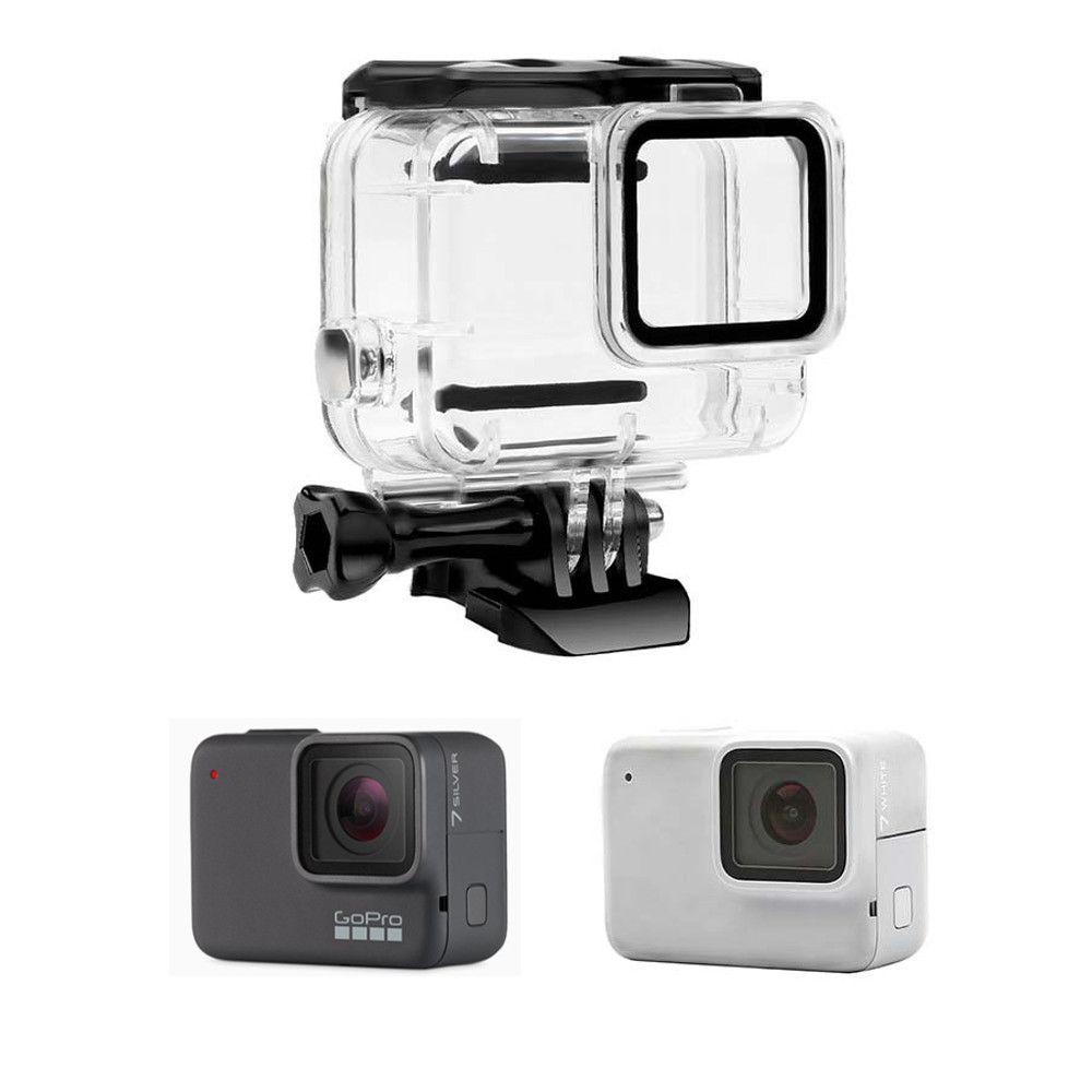 Caixa Estanque fechada GoPro Hero 7 White/Silver Housing Skeleton  - Sem remoção lente