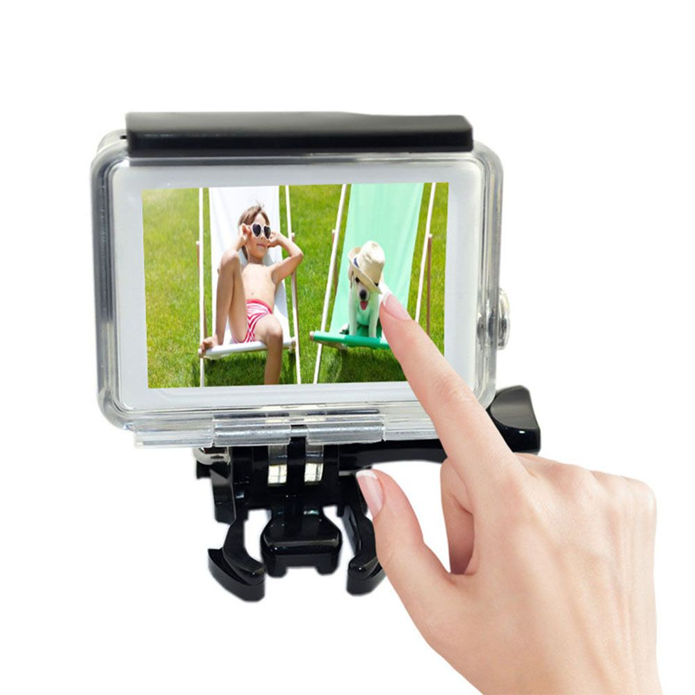Caixa Estanque GoPro Hero 3+/4 com Tampa Touch
