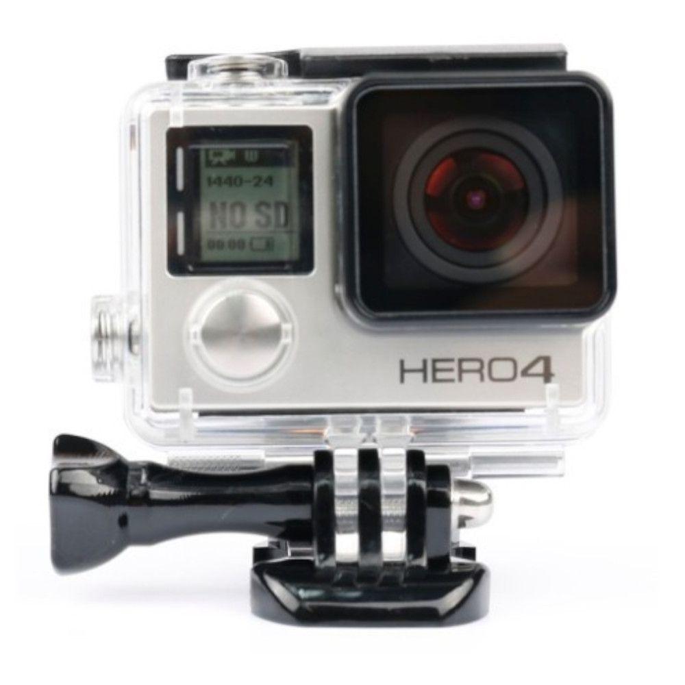 Caixa Estanque Fechada GoPro Hero 3+, 4