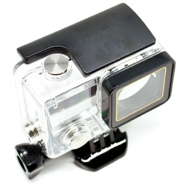 Caixa Estanque  Gopro Case Skeleton Hero 3/4