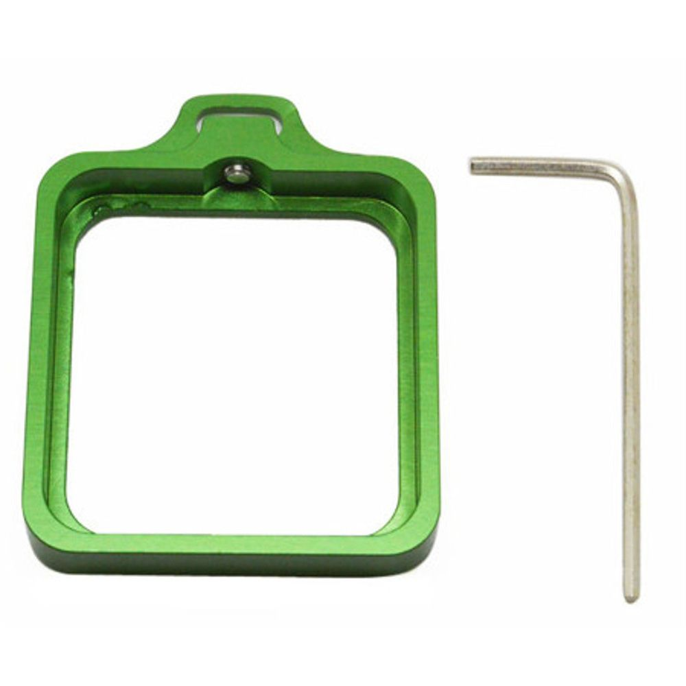 Caixa estanque para GoPro 3+/4 + Anel Aluminio Verde