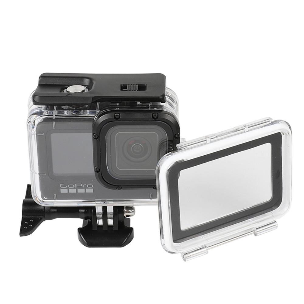 Caixa Estanque para GoPro 9 e 10 Black + Tampa Touch