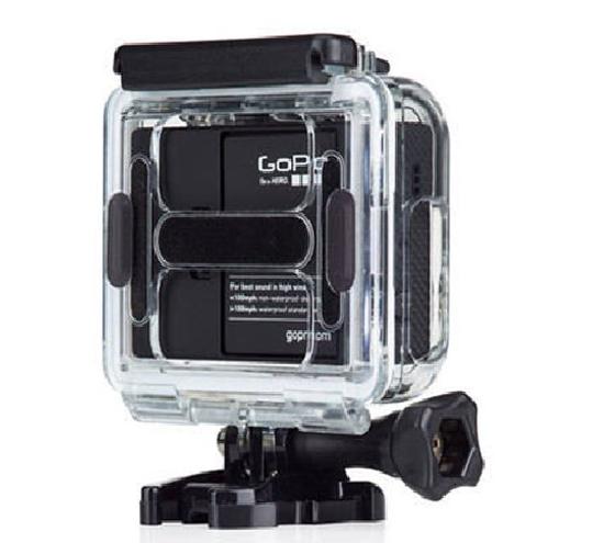 Caixa Estanque Vazada Housing Skeleton para Câmeras GoPro Hero 3+, 4