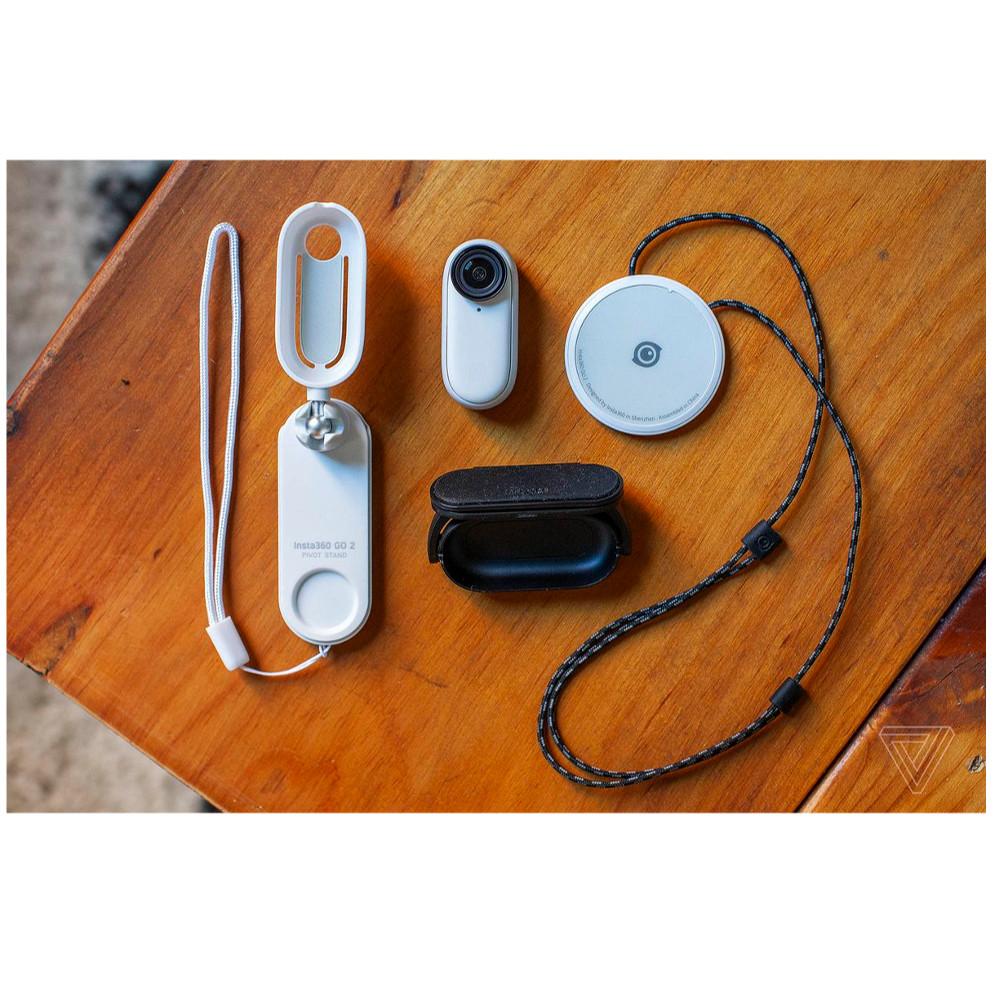 Câmera de Ação Insta360 Go 2 à Prova d'água - Branca