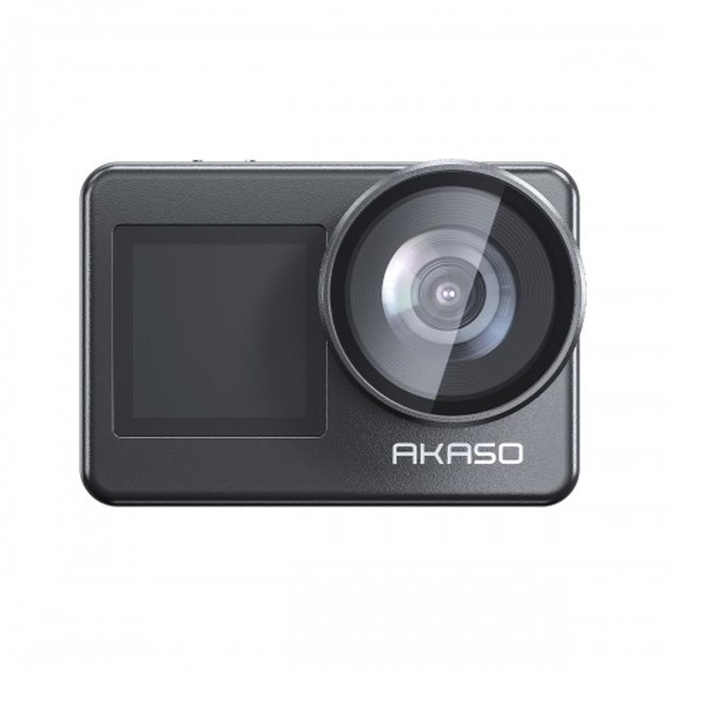 Câmera de Ação Akaso Brave 7 Wi-Fi à Prova d'água 4k 20 mp