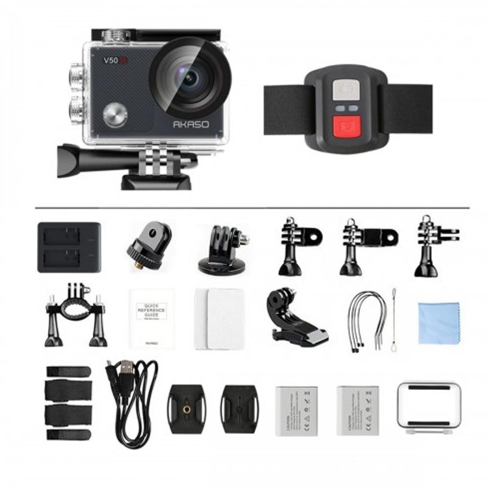 Câmera de Ação Akaso V50 X Wi-fi 4k 30 fps
