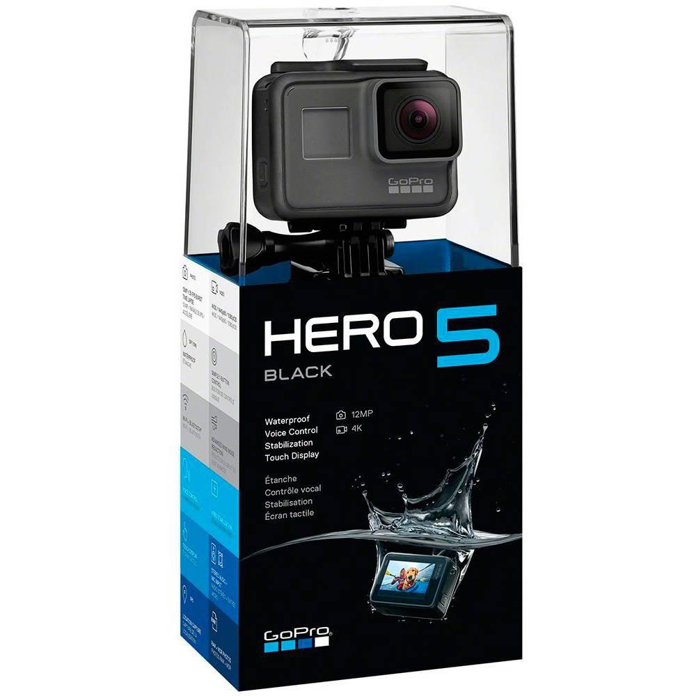 Câmera GoPro 5  Black Tela Lcd 12MP, 4K Prova D'água, GPS Completa