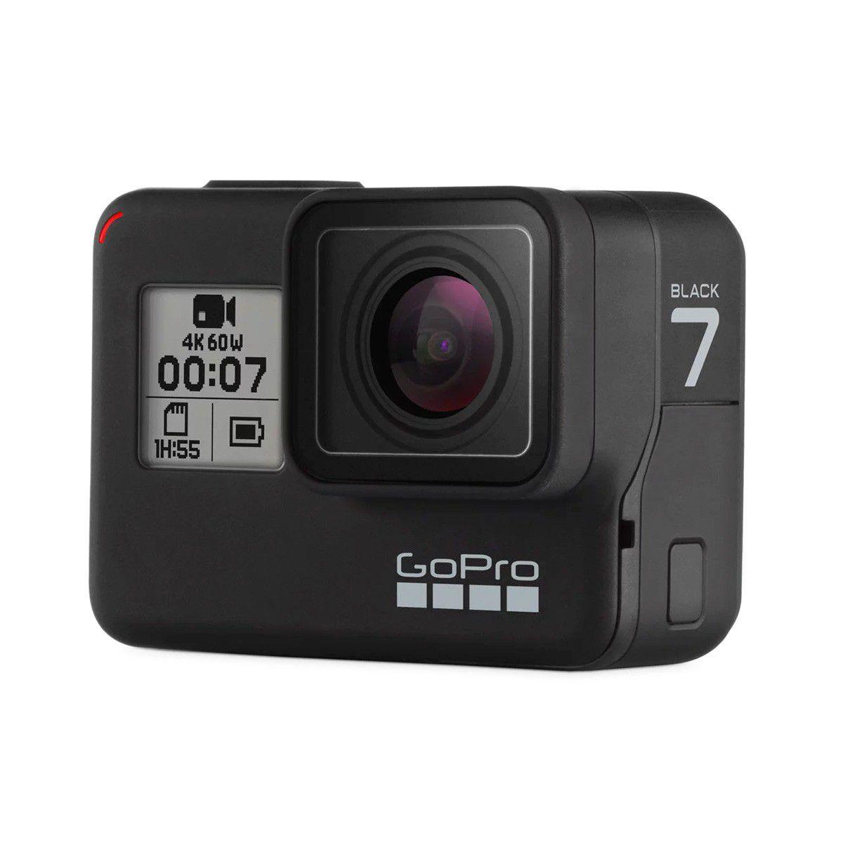 Câmera GoPro 7  Black Edition  + cartão 32G - CHDSB-701
