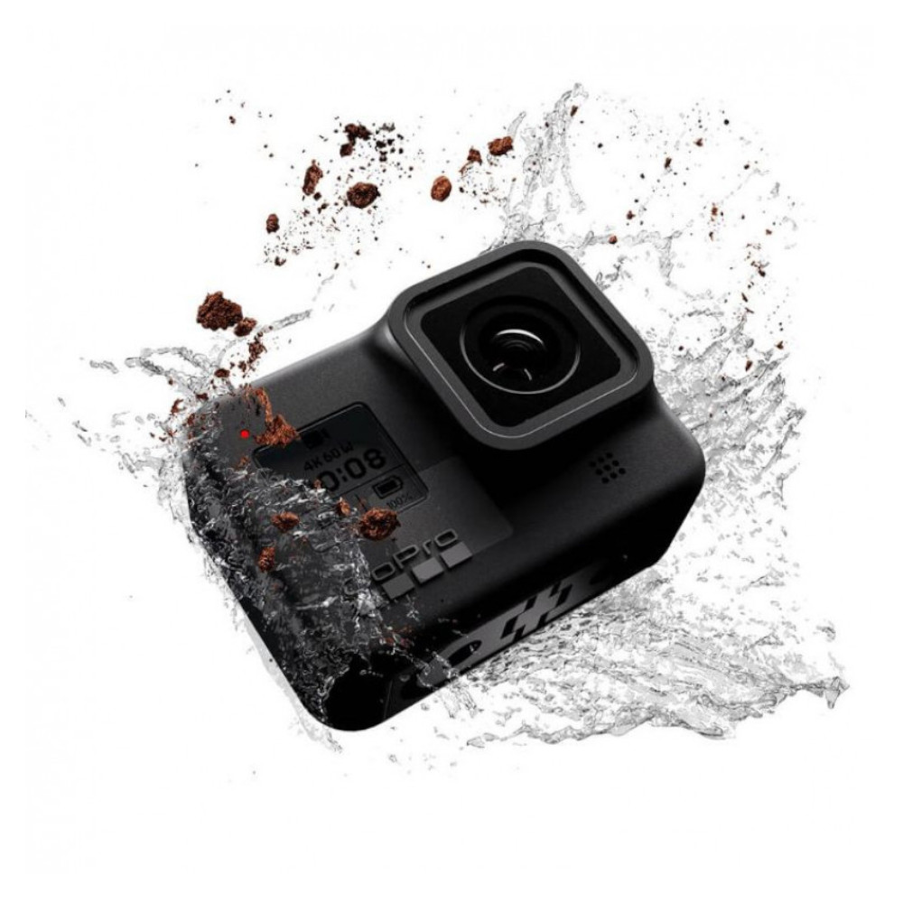 Câmera GoPro 8  Black Special Bundle + Cartão 32G + Bateria + Shorty + Bolsa