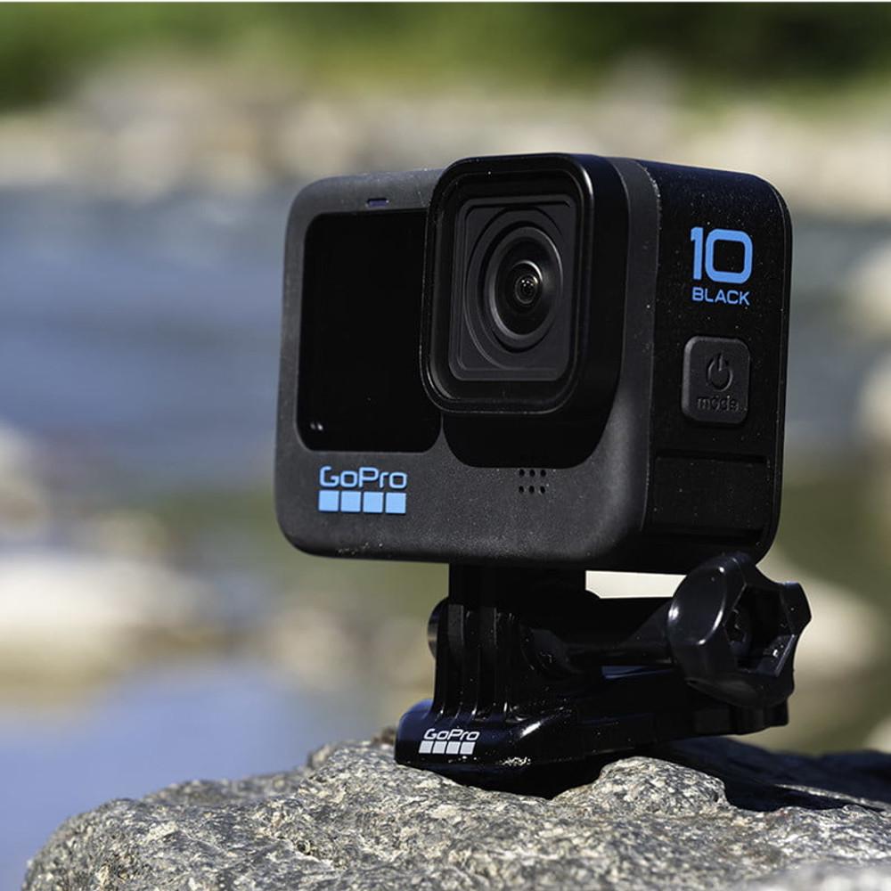 Câmera GoPro Hero 10 Black à Prova d'água Wi-Fi 23MP 5,3K