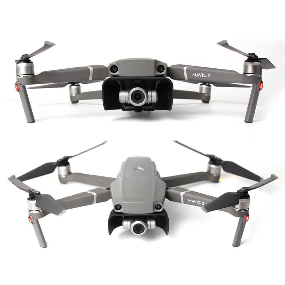 Capa anti reflexo protetora de sol para lente Drone DJI Mavic 2 Pro / Zoom