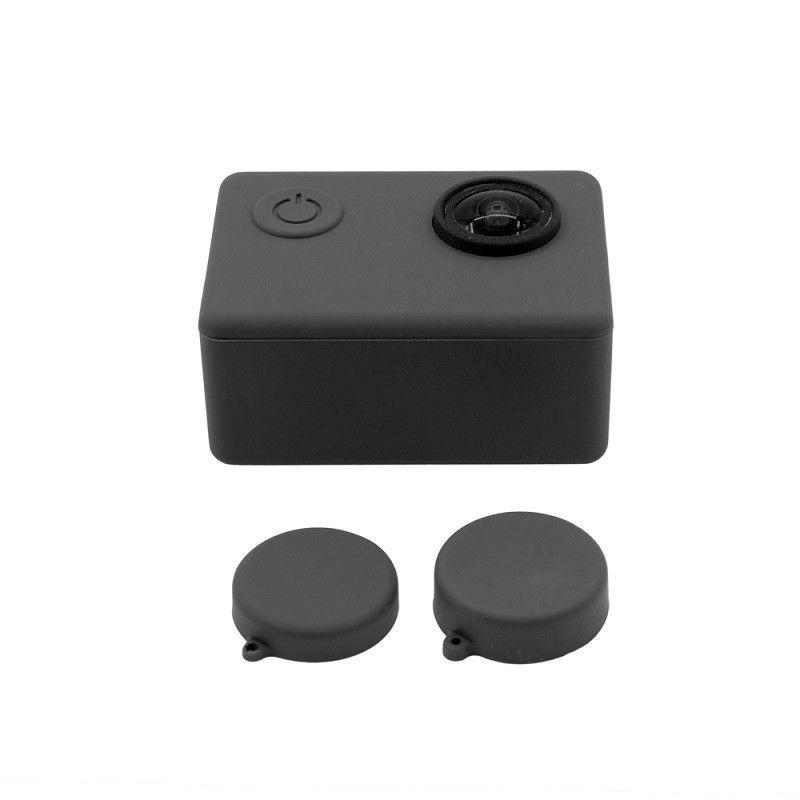 Capa Case Protetora Silicone Para  SJCAM SJ4/5/5+/6/7/9