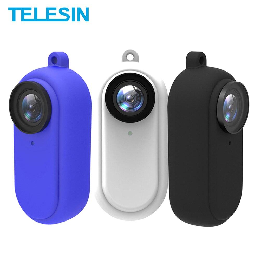 Capa de Silicone Telesin para Insta360 Go 2 - Branco