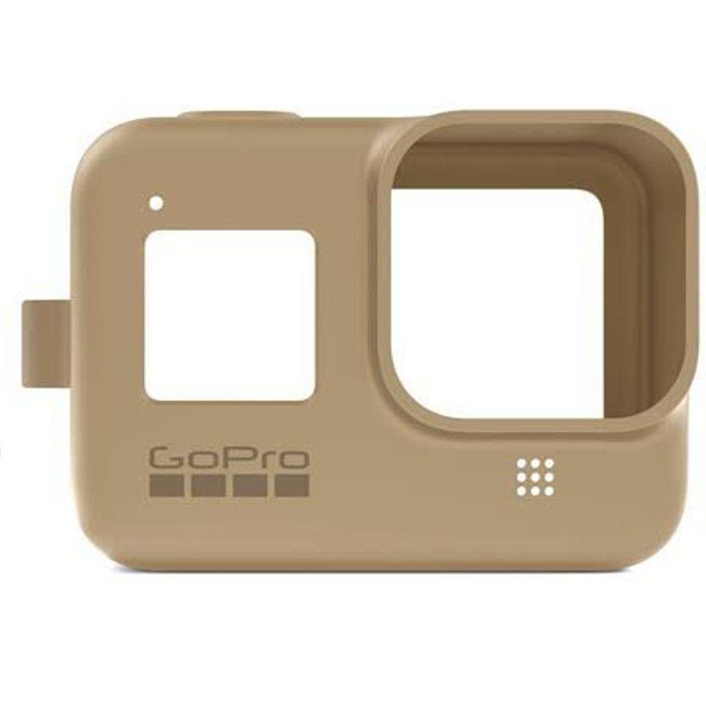 Capa em Silicone Areia + Cordão Sleeve Original GoPro Hero 8