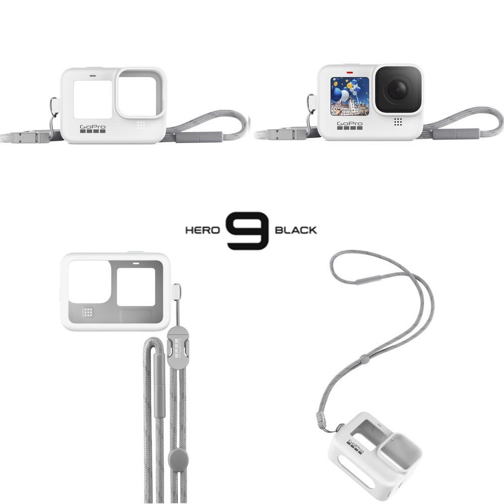 Capa em Silicone Branca Original GoPro 9 e 10 Black Sleeve adsst-002