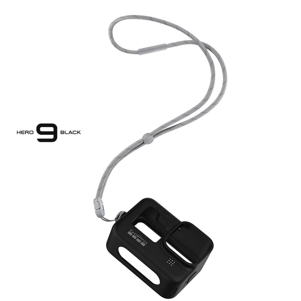 Capa em Silicone Preta Original GoPro 9 Black Sleeve adsst-001