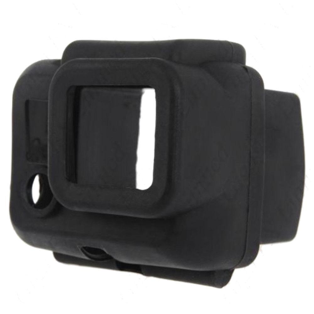Capa Proteção Silicone Preta para GoPro Hero 3, 3+, 4