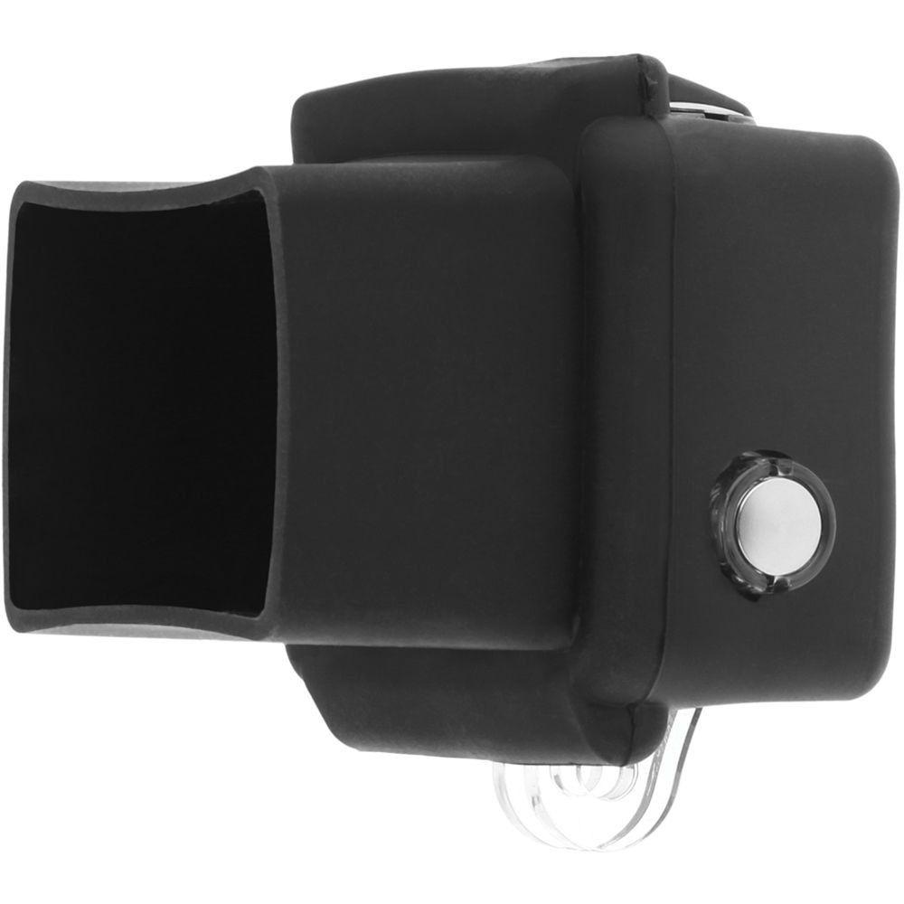 Capa Proteção Silicone Preta para GoPro Hero 3+, 4