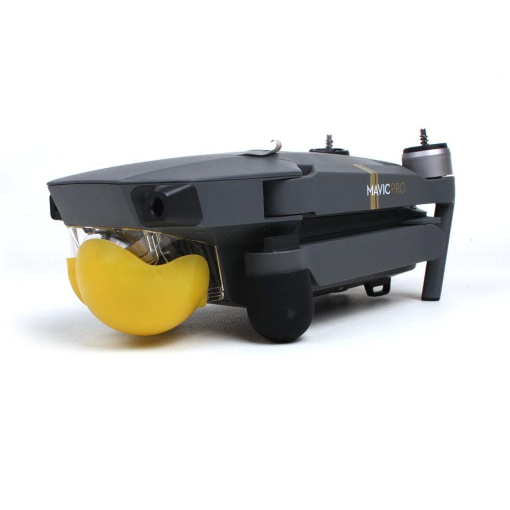 Capa protetora em silicone da câmera e gimbal Drones DJI MAVIC PRO - Amarelo