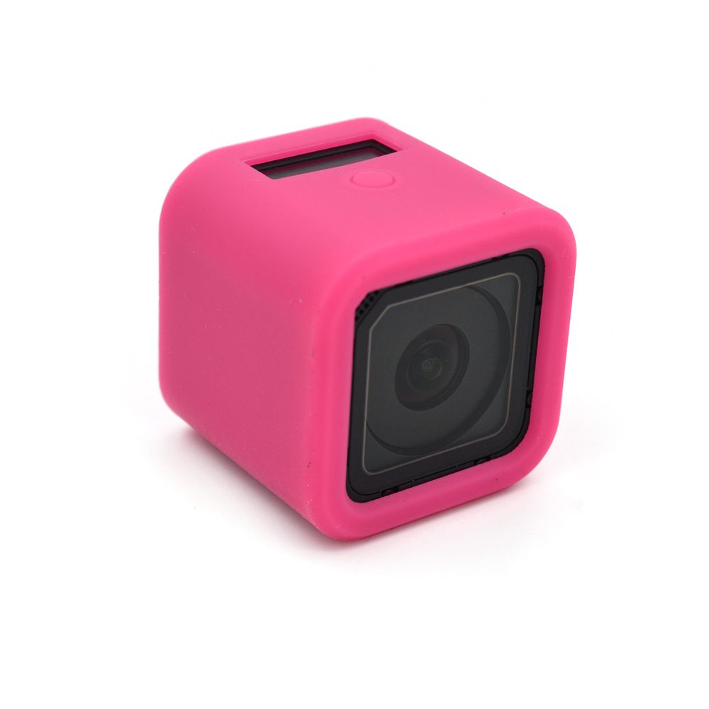 Capa silicone gopro session - rosa