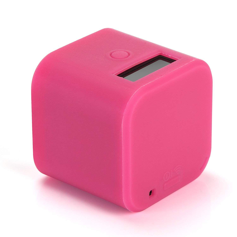 Capa silicone gopro session - rosa