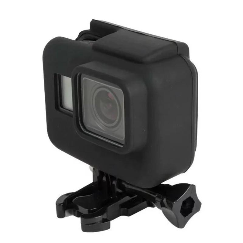 Capa Protetora Em Silicone Para Câmeras GoPro Hero 5, 6, 7 Black