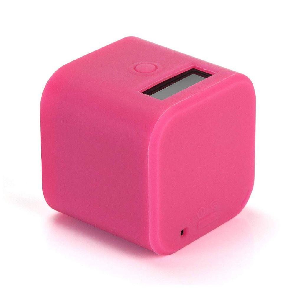 Capa silicone GoPro Session 4, 5 - rosa