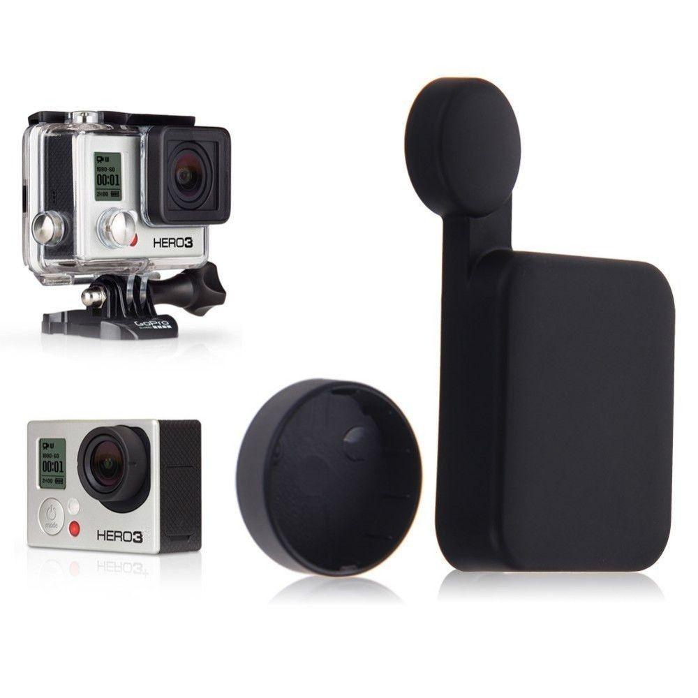 Capa Tampa Protetora de Lente para Câmeras GoPro Hero 3