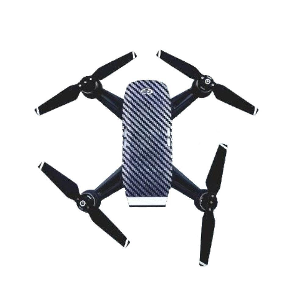 Capa Temática Carbon Grain Skull Sunnylife para Drone Dji Spark
