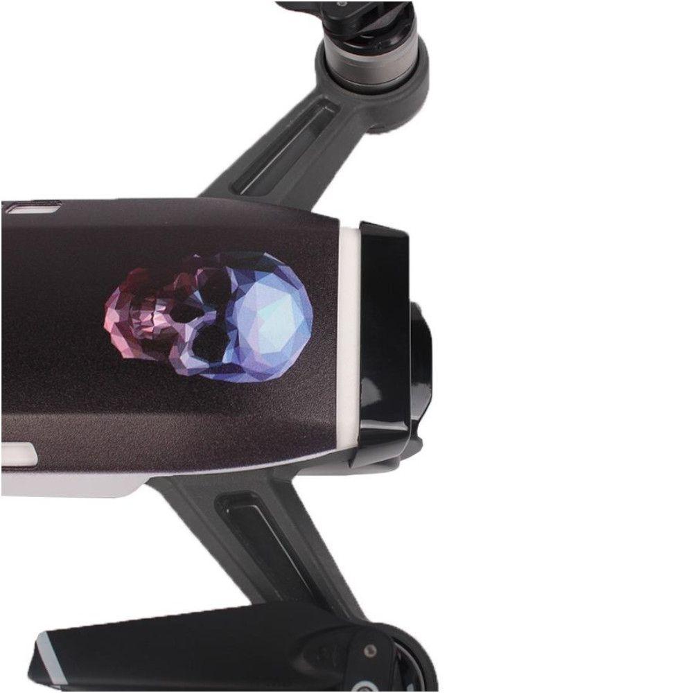 Capa Temática Caveira Skull Sunnylife para Drone Dji Spark