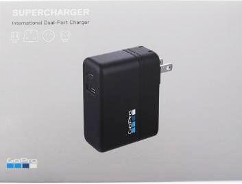 Carregador Original de Parede Dual GoPro Supercharger AWALC-002 GoPro 2345s