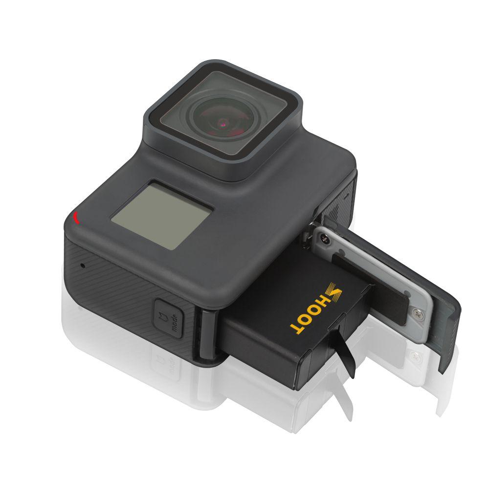 Carregador duplo + 2 baterias GoPro Hero 5/6/7